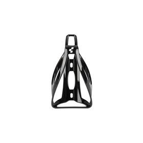 Cube HPP Flaschenhalter glänzend schwarz/weiß